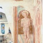 Parete laterale destra, III campata. Restauro 2003. S. Sebastiano sec. XV