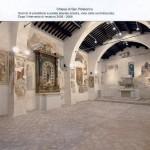 Scorcio di presbiterio e parete laterale sinistra, vista dalla controfacciata. Restauro 2005 - 2006